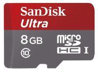 کارت حافظه microSDHC سن دیسک کلاس 10 ظرفیت 8G