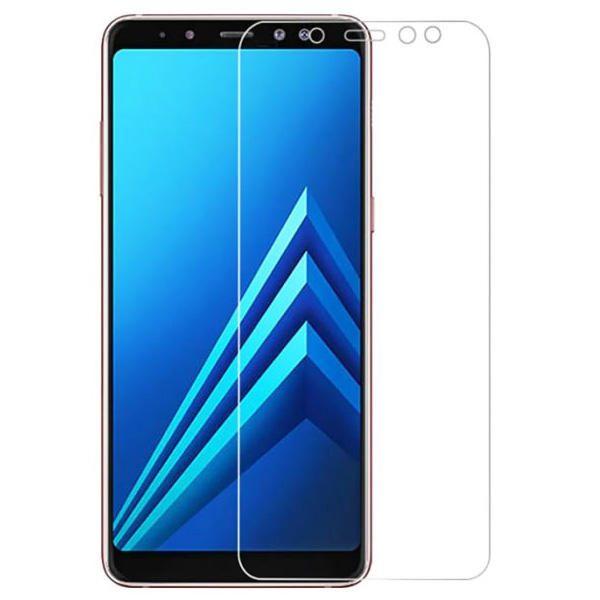 محافظ صفحه نمایش شیشه ای مناسب گوشی samsung a6 plus