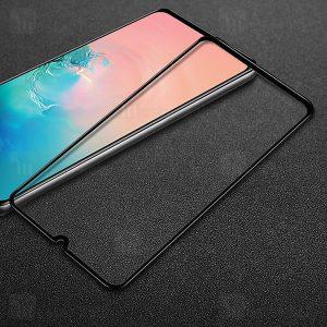 محافظ صفحه نمایش تمام چسب مناسب گوشی samsung A40
