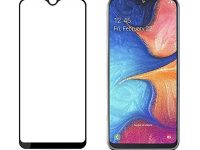 محافظ صفحه نمایش تمام چسب مناسب گوشی samsung A20