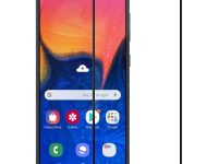 محافظ صفحه نمایش تمام چسب مناسب گوشی samsung A10