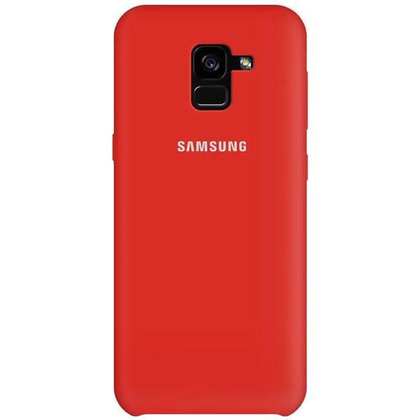 قاب محافظ سیلیکونی سامسونگ Samsung Galaxy A8 Plus 2018