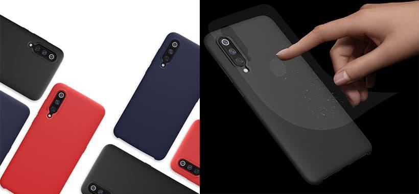 قاب محافظ سیلیکونی Xiaomi Mi 9
