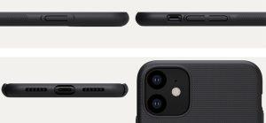قاب محافظ آیفون 11 در اندازهای کاملا استاندارد تولید شده است. به طوری که گوشی آیفون 11 در قاب خود به خوبی قرار میگیرد. علاوه براینکه به صفحه نمایش فشار وارد نمیشود، قاب هم به سادگی از گوشی جدا نخواهد شد. قاب فراستد نیلکین گوشی iPhone 11 کاملا منطبق بر گوشی ساخته شده است. به همین دلیل برای کار با دکمهها، پورتها و دوربین مزاحمتی ایجاد نمیکند. چرا که قاب در محل قرارگیری کلیدها، پورتها و دوربین به دقت برش خورده و شیارهای دقیقی برای کار با این امکانات گوشی ایجاد شده است. کاربران برای استفاده از کلید و پورت یا دوربین زحمتی نخواهند داشت.